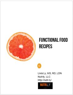 There are only a few spots left to receive my FREE #FunctionalFood recipes ebook!  Act now and fill out one of the forms on my website (under http://nutri.ly/services.html)