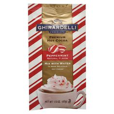 Ghirardelli Peppermint Hot Cocoa Packet 1.5oz