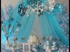 Image result for decoraçaõ de festa frozen