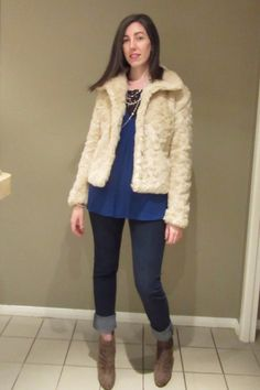 The Frugal Fashionista: Friday's Fab Finds - Faux Fur Coat