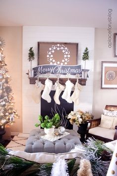 Christmas Home Tour Just Destiny Mag