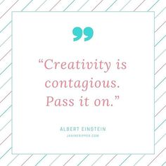 "So true - ""Creativity is contagious. Pass it on."" #create #creativity #art #writing #mycreativebiz #creativelifehappylife #creativeentrepeneur #livecolorfully #blogger #artistic"