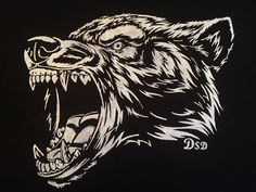 Vector illustration head ferocious wolf, outline silhouette on a black background , Tribal Wolf Tattoo, Wolf Tattoos, Dog Vector, Vector Art, Vector Graphics, Wolf Outline, Wolf Sketch, Wolf Illustration, London Poster