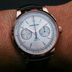 38bf1669674 Montblanc Meisterstuck Heritage Chronograph