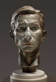 """""""Magician"""" (Bust) Bronze h: 19 x w: 9 x d: 11 in Richard MacDonald Sculpture Sculpture Head, Modern Sculpture, Bronze Sculpture, Sculpture Portrait, Art Gallery, Foto Art, Art Plastique, The Magicians, Sculpting"""