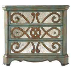 Peacock Accent Chest.