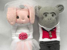 Little Sockamajig Bride & Groom