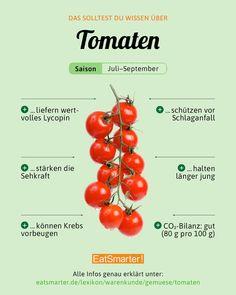 eatsmarter_deLINK IN BIO Reichlich Vitamin C ist nur in Freilandfrüchten anzutreffen, Treibhaustomaten liefern nur die Hälfte. 