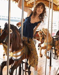 f2b44b920e madewell x karen walker floral potter pants worn with madewell x karen  walker denim trianon top