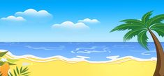 Sci Fi Background, Background Images, Cartoon Island, Sand Island, Summer Banner, Summer Beach Party, Summer Poster, Hello Summer, Background Templates