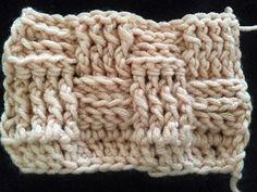"By RoOmieY: Kussen hoes ""Basket weave stitch"" haken"