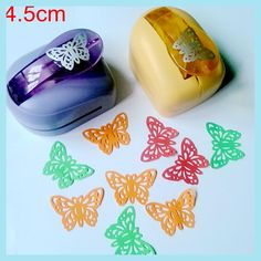 Jef Large Butterfly Shaper Craft Punch Scrapbooking Punches Paper Puncher DIY tools Perforadora Papel Paper Cutter School k612