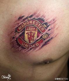 Manchester United Tattoos | MadSCAR