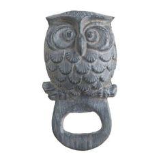 Cast Iron Owl Bottle Opener