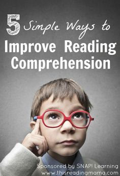 5 Simple Ways to Improve Reading Comprehension {from Pre-K and beyond} | This Reading Mama