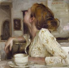 "frecklesandivory: & lsquo; Taking it All In ""par Karen Offutt"