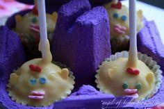 Angel of Berlin: [bakes...] Chicklet Cake Pops for Easter