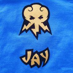 tshirt Lego Ninjago Jay the blue ninja inspired by FishbynClothing, $35.00