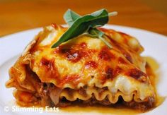 Yummy Beef Lasagne | Slimming Eats - Slimming World Recipes