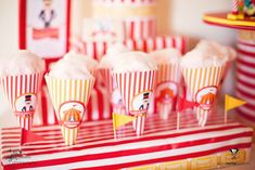 Harry's 2nd Circus Birthday Party | CatchMyParty.com