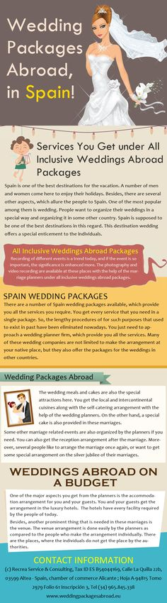 There Are The Wedding Abroad Bundles Under Which You Can Locate Various Offices