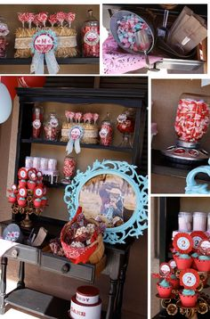 Cowgirl Candy Corral- candy buffet