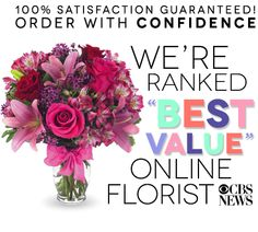 From You Flowers, named the best value online florist by CBS News Hey there everyone ! Look at the deals you can get here. I wont be there at MOTHERS DAY but my flowers will let MOM know I love and think of her often . Great prices and flowers . gg