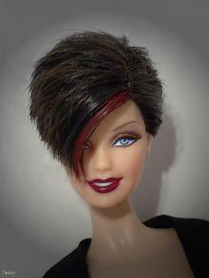 OOAK Barbie Basics by -Twisty. Una pretty , but i would be afraid to do it !    Barbie guapa!