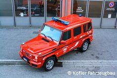 Ein schönes Exemplar des Mercedes G 350 d als MTF der FF Mühlwald in Südtirol.