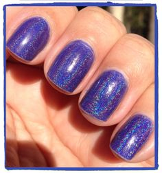 Indigo Love from The Colour My World Collection by LilypadLacquer, $11.00
