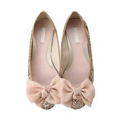 www.weddbook.com everything about wedding ♥ Fashionable and Comfortable Wedding Shoes | Rahat Gelin Babetleri #flat #glitter #sparkle