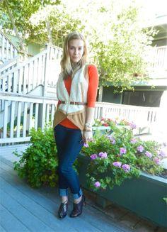 #mystyle #mywardrobe #shearling #vest #agjeans #fashion #style #personalstylist #urbandarling