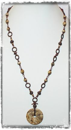 Desert Sands... Handmade Jewelry Necklace Picture by Fanceethat