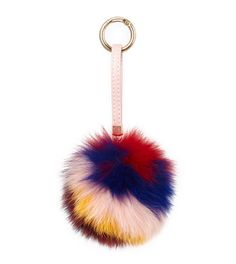 """The best colour in the whole world is the one that looks good on you."" Coco Chanel #colour #accessories #fashion #fur"