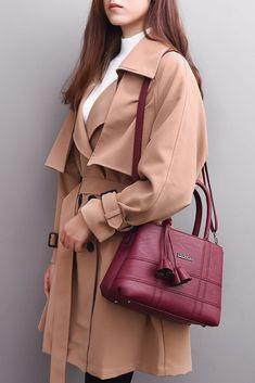 20b4c05cf71f High Quality PU Leather Women Shoulder Bag