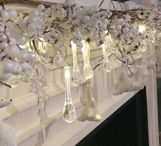Check out the deal on 6 Foot Snow Berry Garland at Battery Operated Candles
