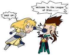 Welcome to the League of Dra.... by HikariWing.deviantart.com on @deviantART