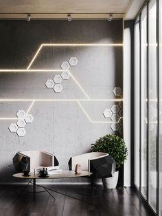 58 Ideas office exterior wall design for 2020 Exterior Wall Design, Office Wall Design, Exterior Wall Cladding, Wall Panel Design, Office Walls, Office Interior Design, Interior Walls, Office Interiors, Office Art