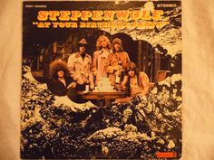 Steppenwolf, At Your Birthday Party vinyl record by theposterposter on Etsy
