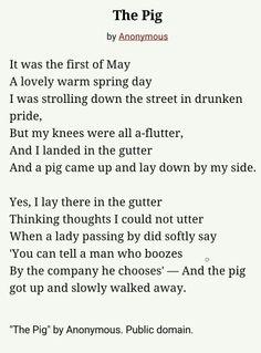 The Pig Poem