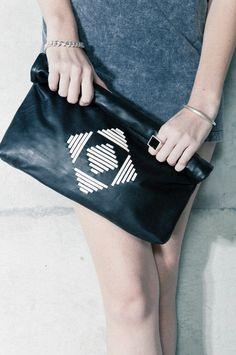 Hota Black Clutch by Katzi