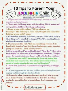 Kids and anxiety