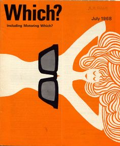 July 1968. vintage everyday: Which? Magazine Covers from 1960-1970's