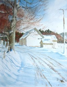 The Road Home by David Burns, Cape Cod artist