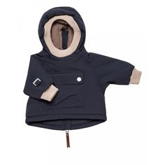 Ombre blue baby Wen winter anorak from Mini A Ture