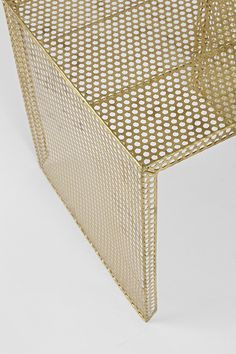 Nested Caged Metal Side Table | Urban Outfitters
