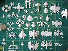 paper bugs by herzensart, via Flickr