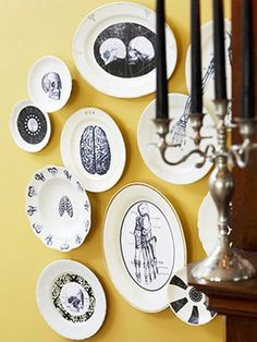 I want to modge podge plates on the wall in the kitchen.  modge podge modge podge modge podge