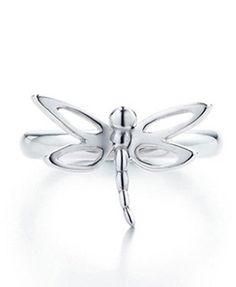 Tiffany & Co Dragonfly Silver Ring - $59.85 : Tiffany Outlet Online   LOVE THIS!!!