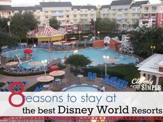 8 Reasons to Stay at the Best Disney World Resorts